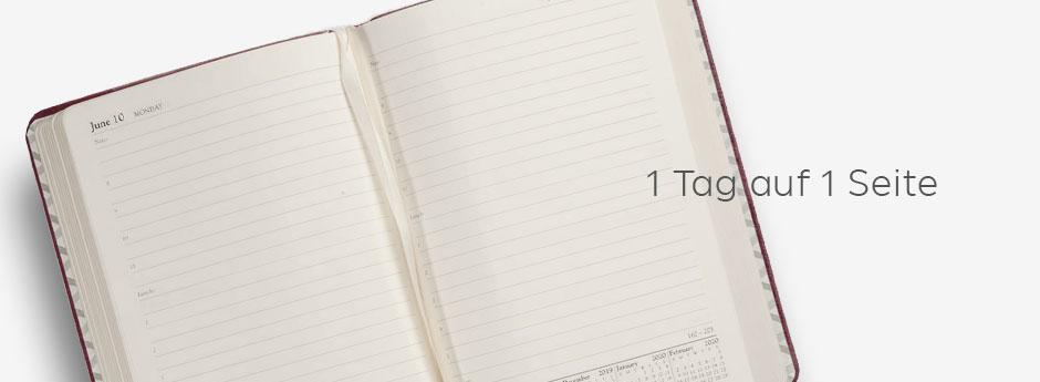1 Tag auf 1 Seite