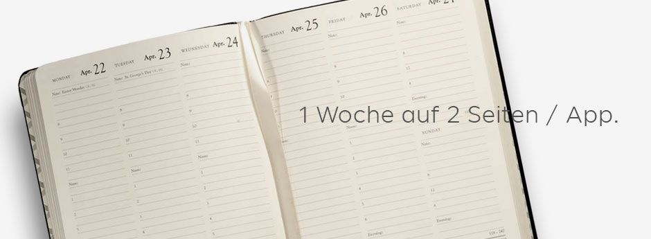 Wochenkalender Appointment