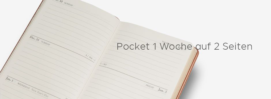 Wochenkalender Pocket