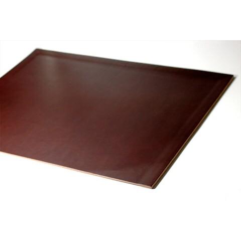 Schreibtischauflage Leder Noce 45x60 cm braun