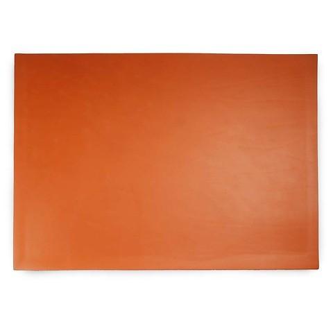Schreibtischauflage Leder Noce 45x60 cm orange