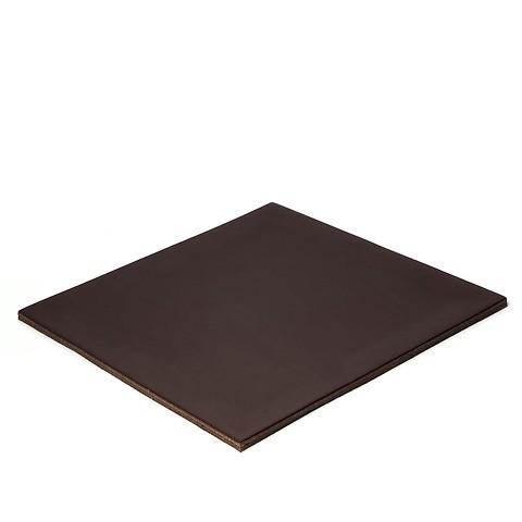 Mousepad Leder Noce 24,5x24,5cm braun