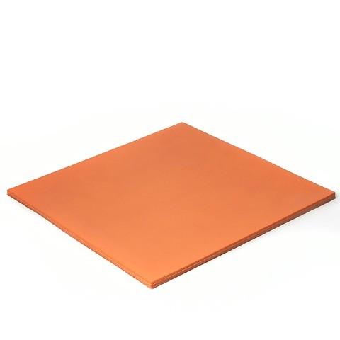 Mousepad Leder Noce orange 24,5x24,5 cm
