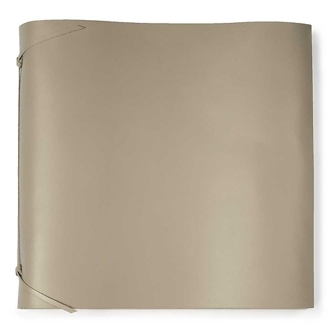 Fotoalbum Leder 35x35 cm taupe, 50 Blatt
