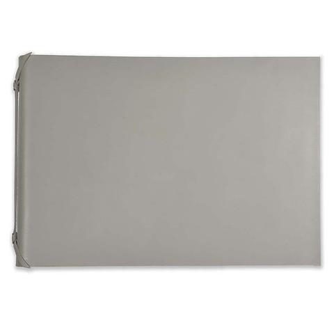 Fotoalbum Leder 35x24,5 cm taupe, 30 Blatt