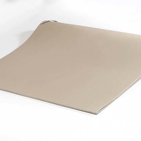 Sottomano Leder groß 45x37 cm  taupe