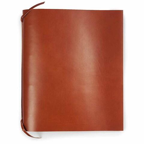 Ringbuch A4 Leder tan