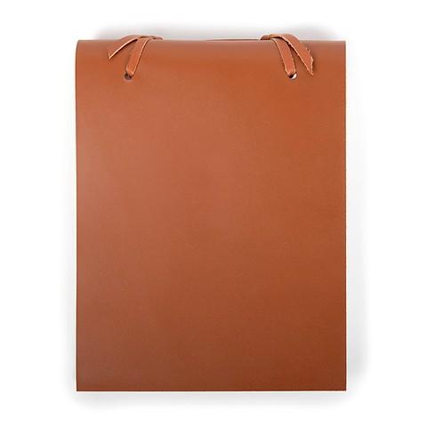 Blocco Skizzenblock Leder groß 16x20 cm 200 Blatt tan