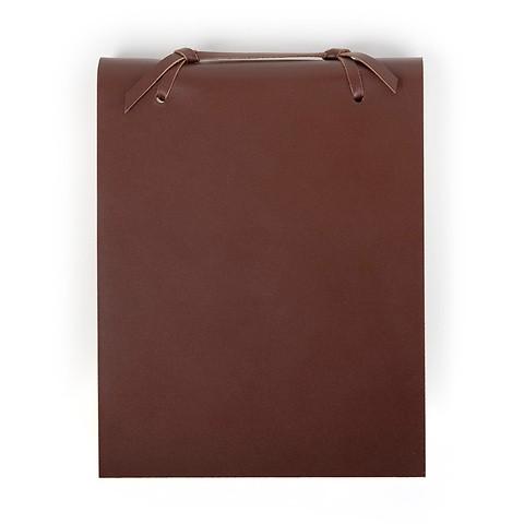Blocco Skizzenblock Leder groß 16x20cm 200 Blatt dunkelbraun