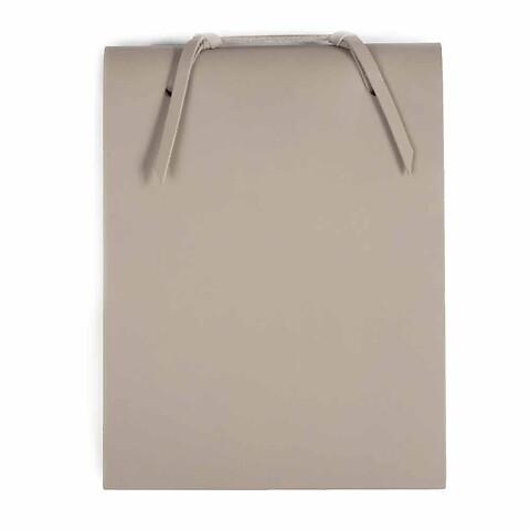 Blocco Skizzenblock Leder groß 16x20 cm 200 Blatt taupe