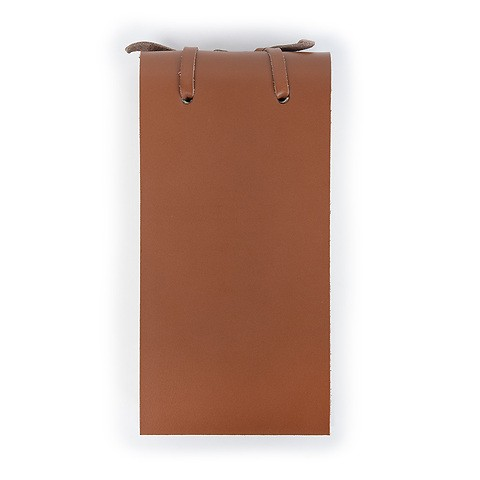 Blocco Skizzenblock Leder klein 8x16 cm 200 Blatt tan