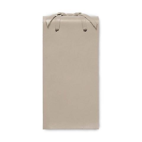 Blocco Skizzenblock Leder klein 8x16 cm 200 Blatt taupe