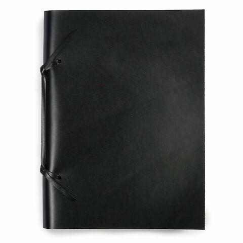 Skizzenbuch Quadernone Leder 21x30 cm schwarz