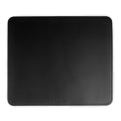 Mousepad Leder 24,5x21 cm schwarz