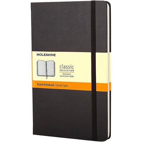 Moleskine Notizbuch Klassik A6 schwarz liniert