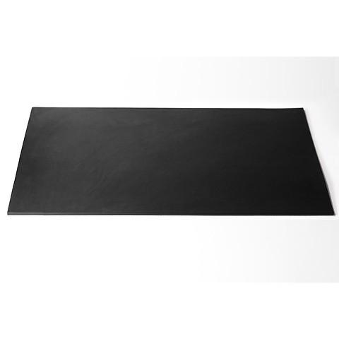 Schreibtischauflage Leder 60x40 cm schwarz