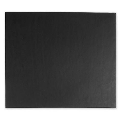 Mousepad Leder schwarz 28x25 cm