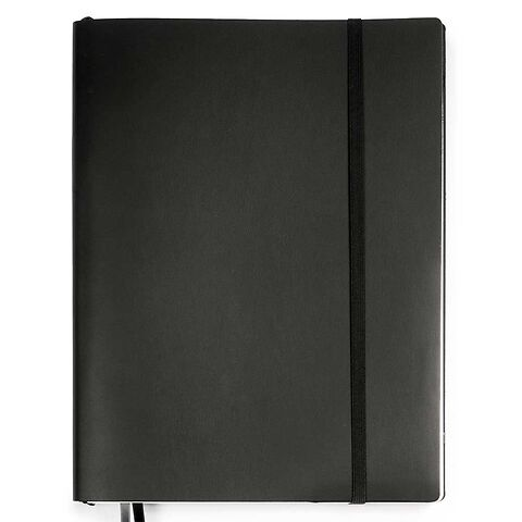 Whitebook Leder Calf XL schwarz