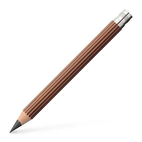 Graf-v.Faber-Castell 3x Taschenbleistift Magnum, braun