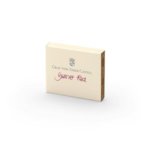Graf von Faber-Castell Tintenpatronen 6er granatrot