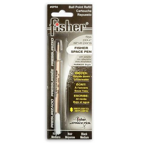 Fisher Space Pen Gasdruckmine für Kugelschreiber; schwarz M