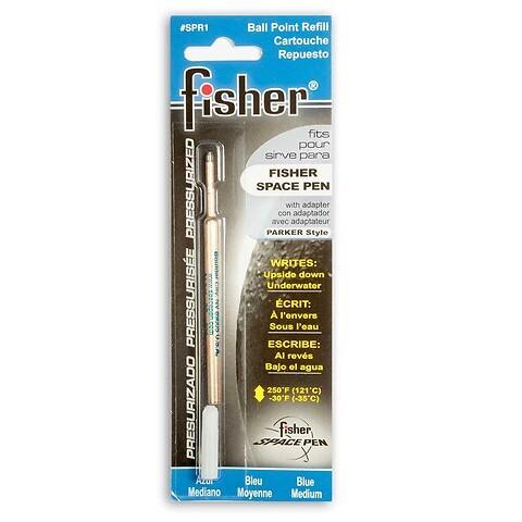 Fisher Space Pen Gasdruckmine für Kugelschreiber; blau M