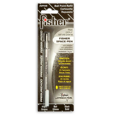 Fisher Space Pen Gasdruckmine für Kugelschreiber; schwarz B