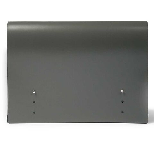 Pultordner Leder 9 Fächer, 33x22 grau