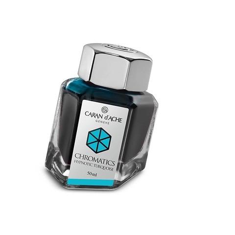 Caran d'Ache Tinte Chromatics  50 ml Türkis