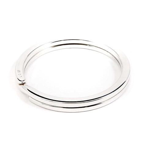 Schlüsselring Sterlingsilber mit Durchmesser 4,3 cm