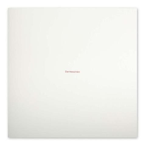 Grußkarte 'Dankeschön' Helvetica quadratisch