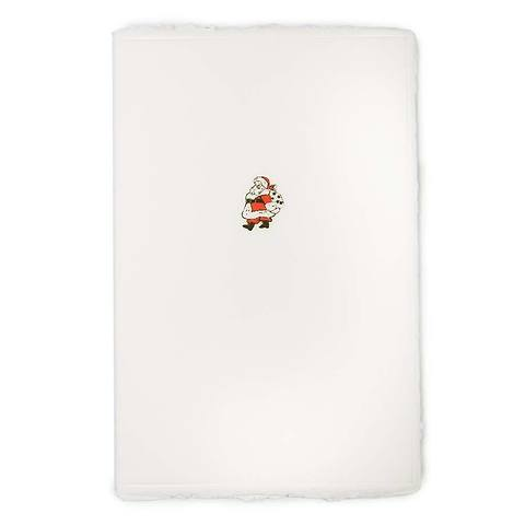 Weihnachtskarte Little Santa Büttengruß Diplomat