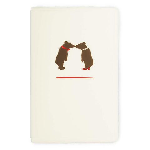Grußkarte Bärenliebe Büttengruß Diplomat