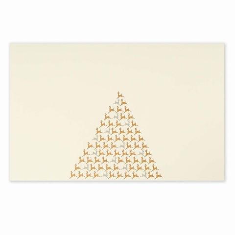 Weihnachtskarte Bocksprung Diplomat