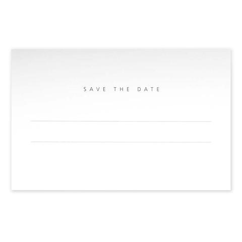 Grußkarte 'Save the date' Invitation Set BlancBlanc Diplomat
