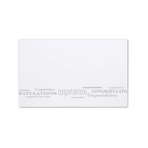 Grußkarte 'Congratulations' Mini