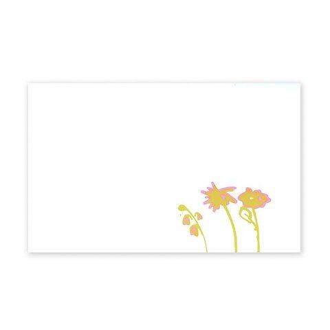 Grußkarte Flowers Mini