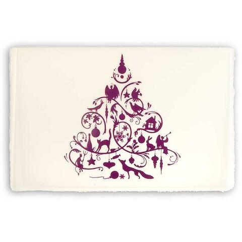 Weihnachtskarte Fairy Tale Büttengruß Diplomat