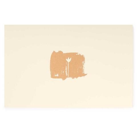 Grußkarte Poetry Lonely Tulip Diplomat smooth ivory