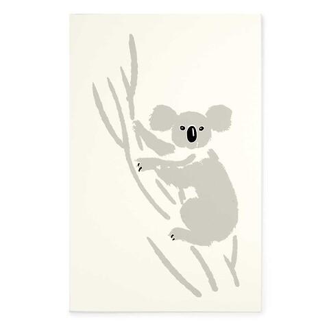 Grußkarte Koala Bär Diplomat