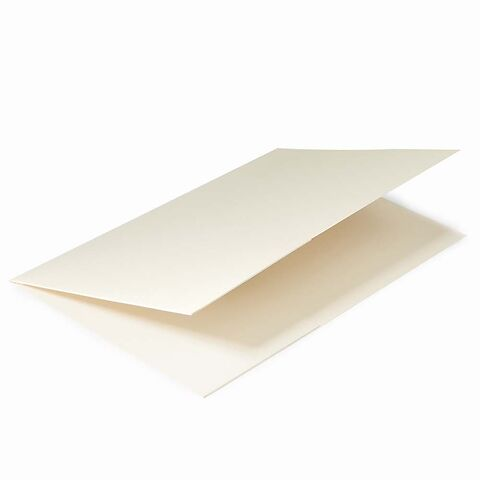 Pressemappe A4 smooth ivory