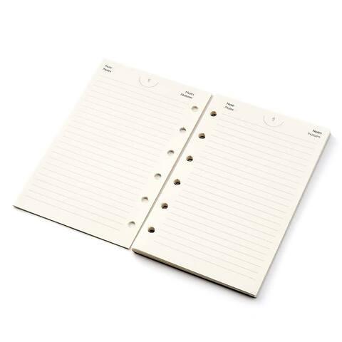 Standardfüllung PO Pocket Plan er Refill liniert ivory