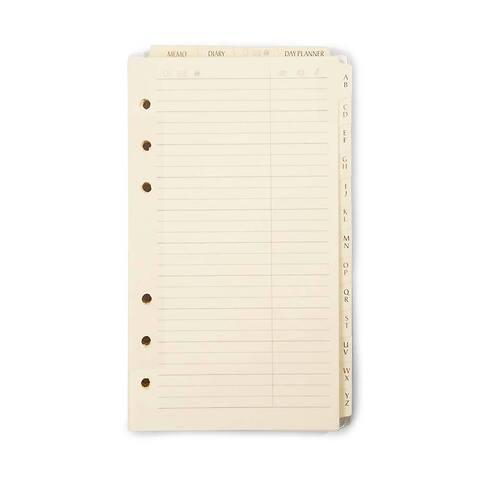 Refill PE Personal Planer Standardfüllung alle Register