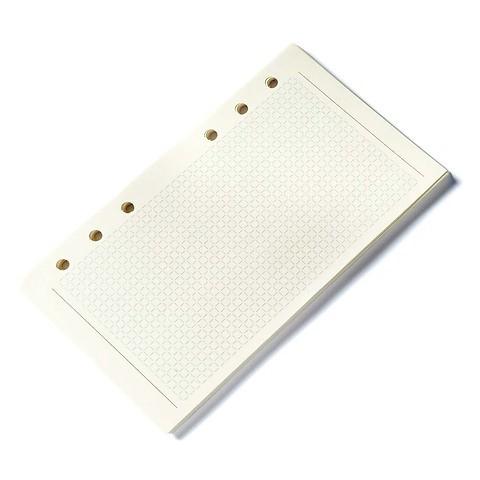 Standardfüllung Personal Planer Refill Karopapier cream