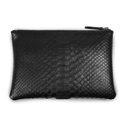 Zip Wallet Python 24x16 cm, schwarz