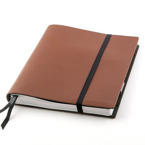 Whitebook Leder Calf soft iPad Air SL 25x18 cm braun