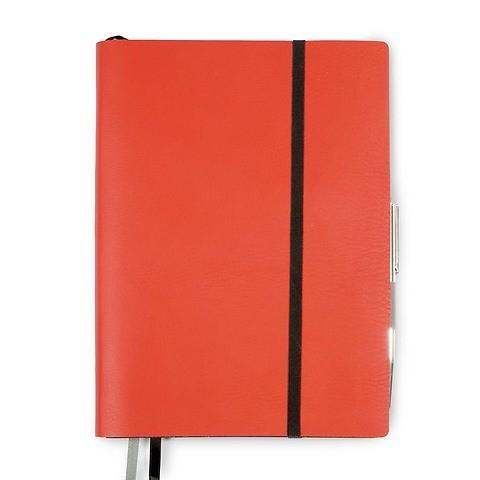 Whitebook Leder Calf soft iPad Air SL 25x18 cm orange