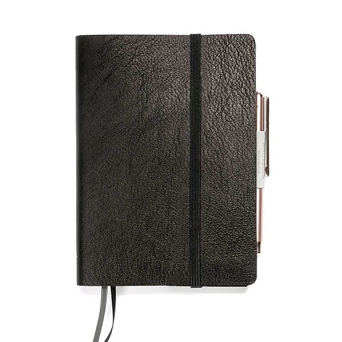 Whitebook Leder Calf Soft SX schwarz