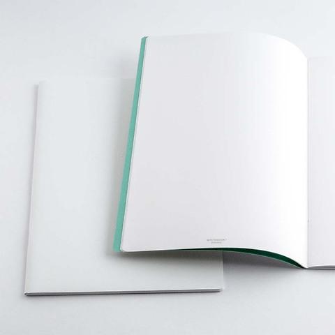 Refill Notizbuch Whitebook Notes ML blanko