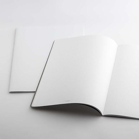 Refill Notizbuch Whitebook Notes SL kariert
